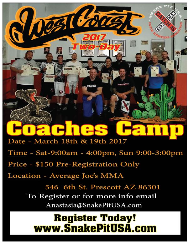 West Coast Coaches Camp2017