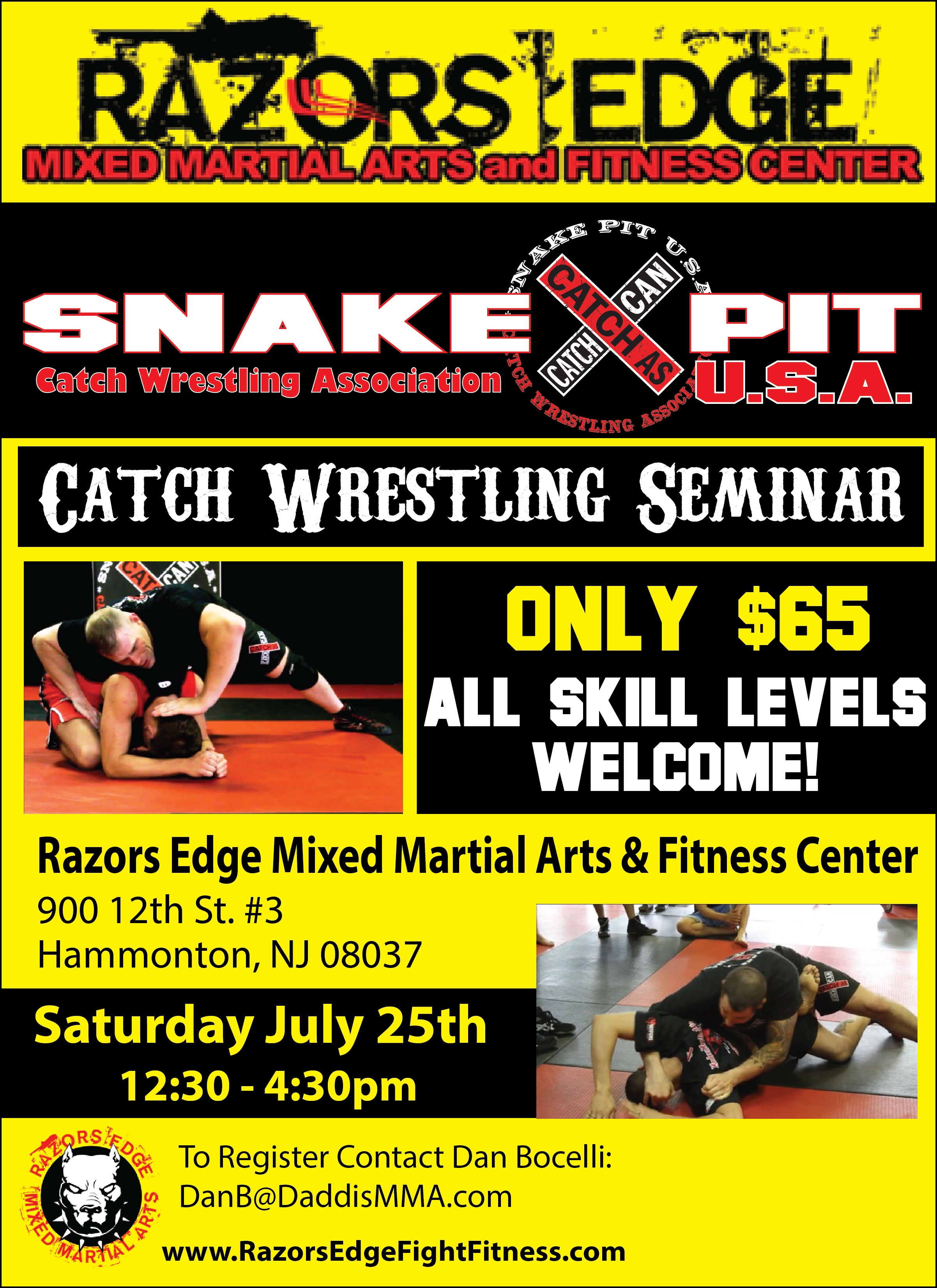 Razors Edge Seminar July 25th