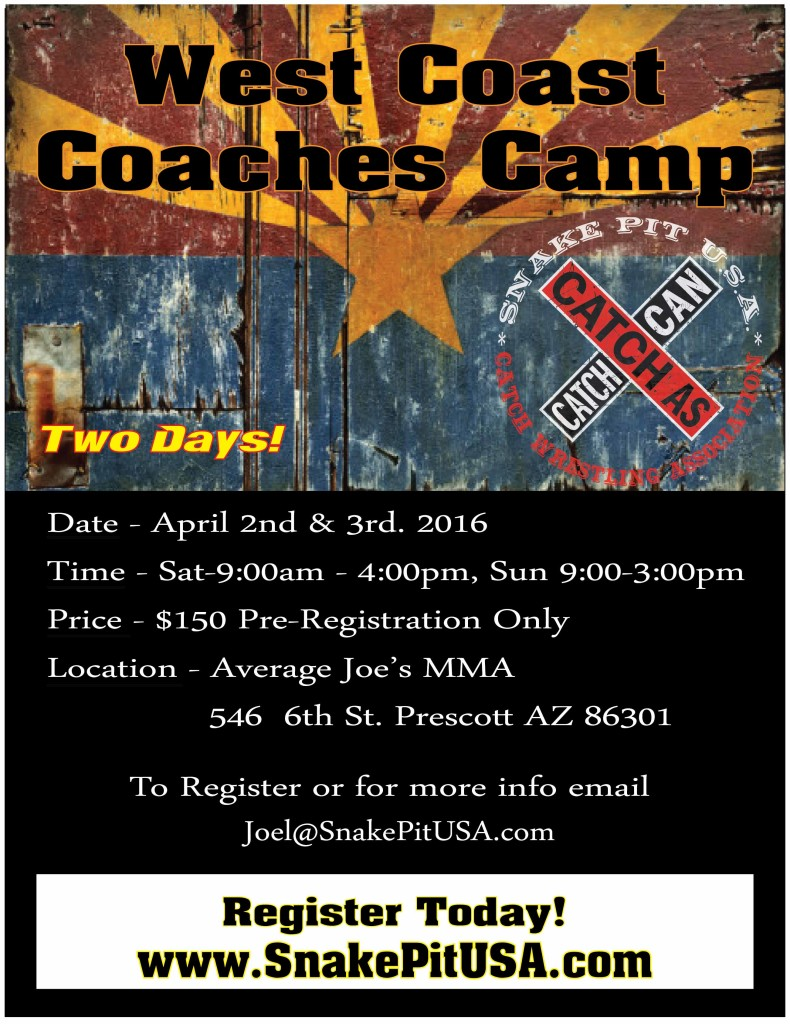 West Coast Coaches Camp