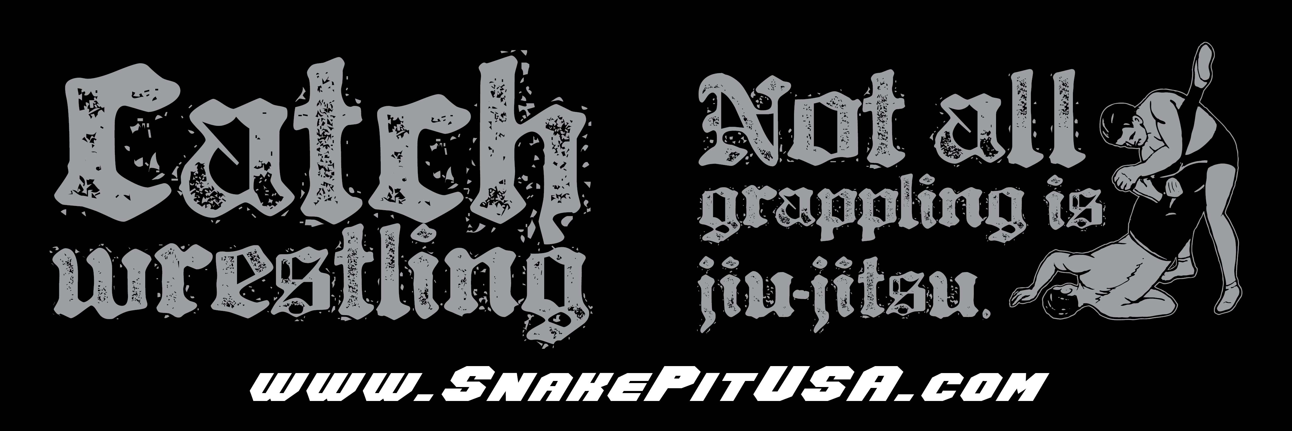 3 Not All Grappling is Jiu Jitsu sticker