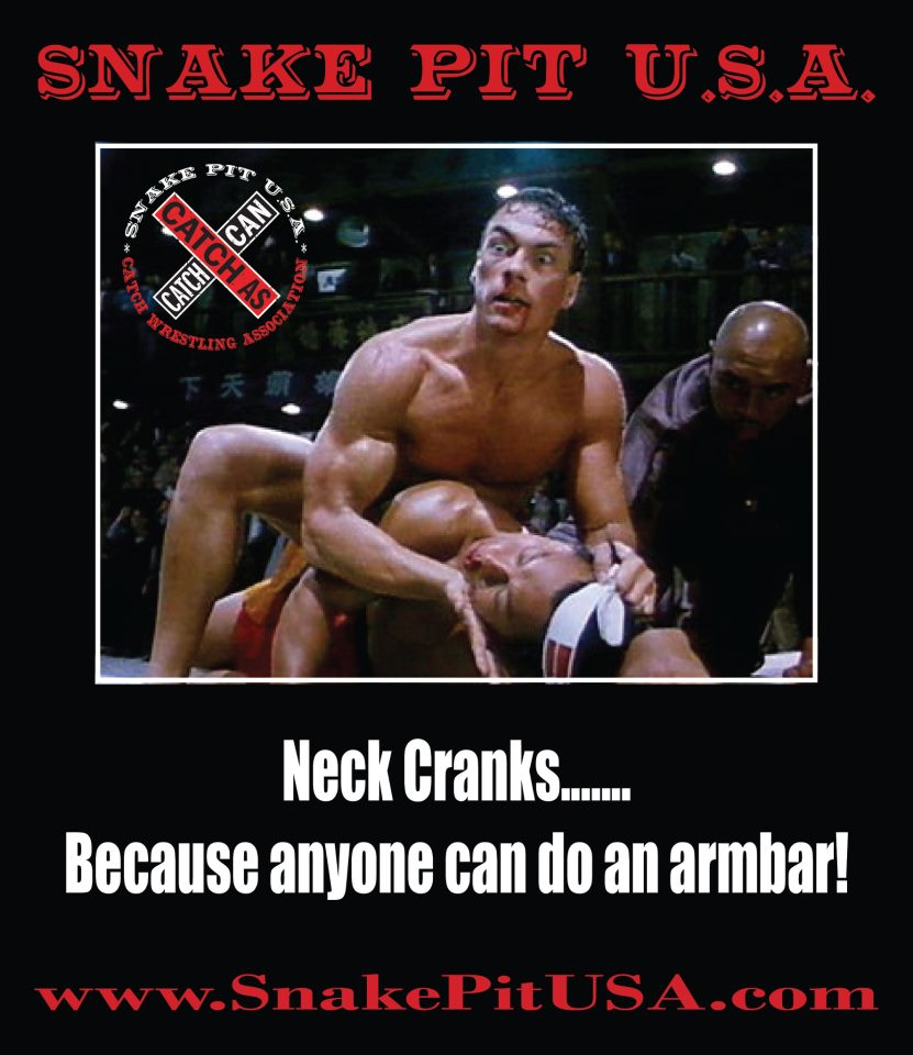 JCVD's Neck Crank