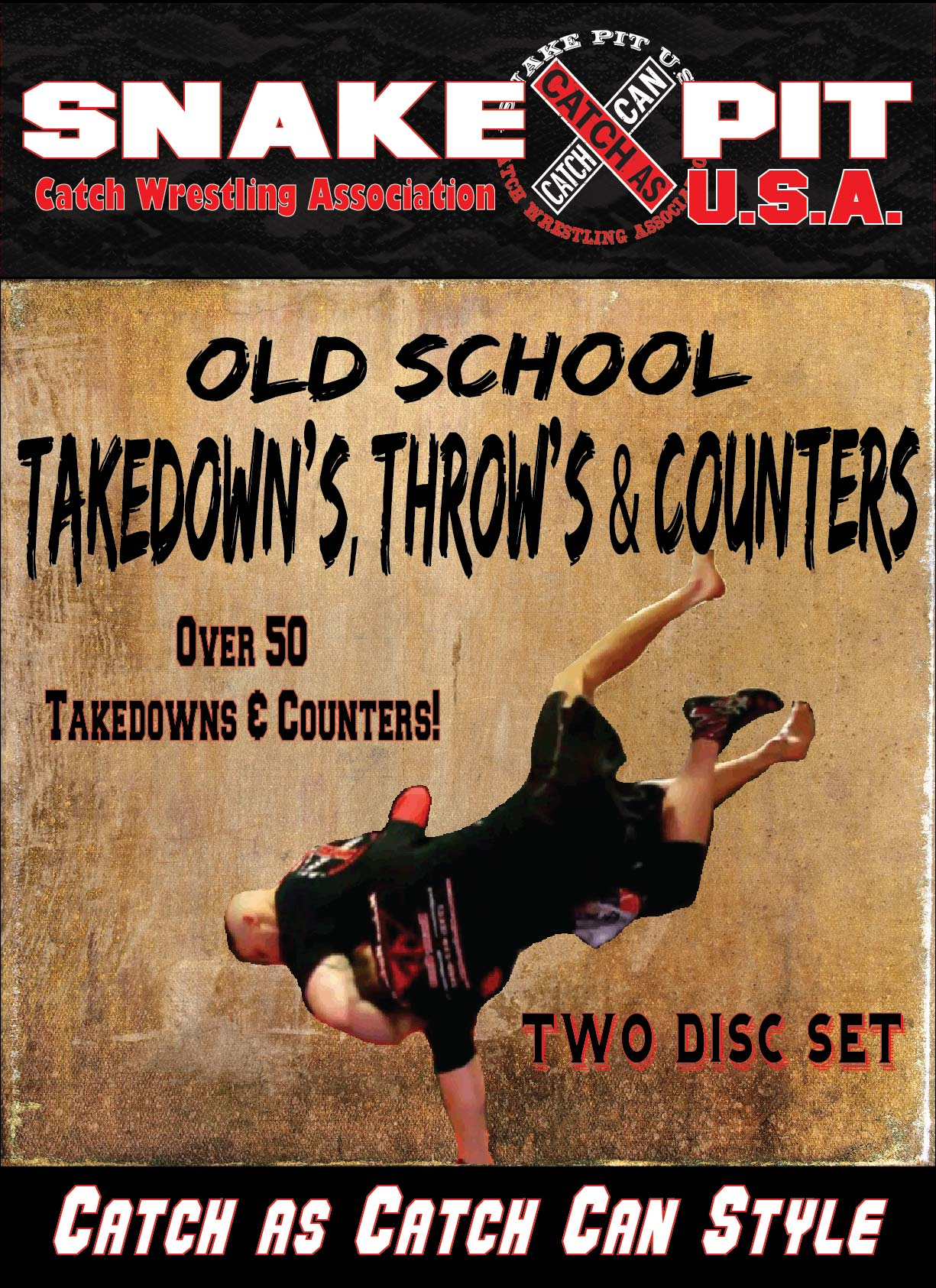 Old School Takedowns| Snake Pit U.S.A. Catch Wrestling | Razors Edge MMA | Joel Bane | John Potenza | Dan Bocelli | NJ Catch Wrestling