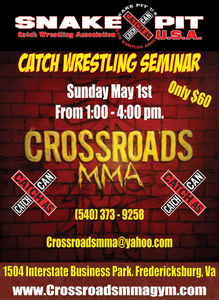 crossroads mma 1 may 2016