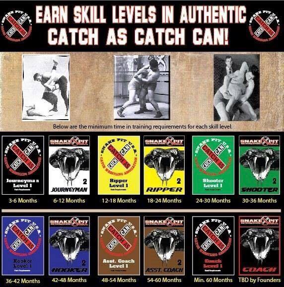 cATCH sKILL lEVELS