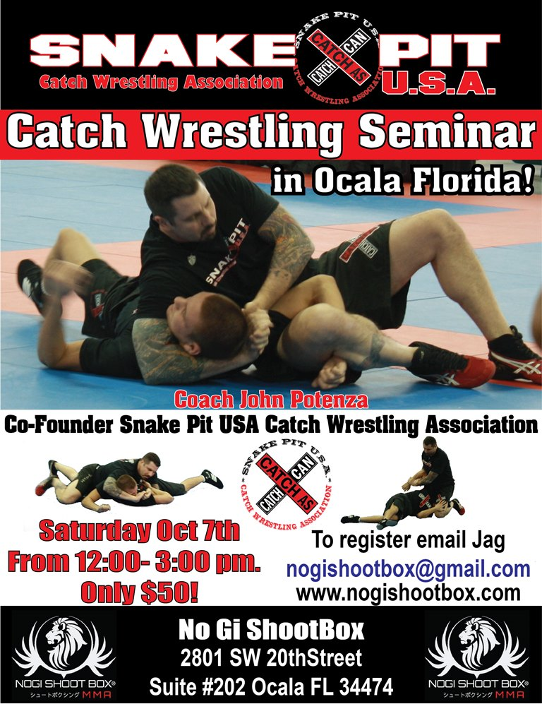 No Gi ShootBox Seminar